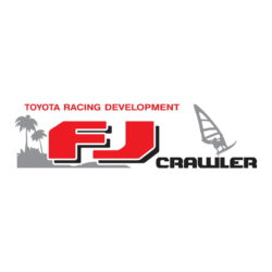 Toyota Racing Development FJ Crawler Palms decal