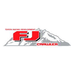 Toyota Racing Development FJ Crawler decal