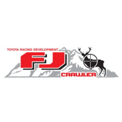 Toyota Racing Development FJ Crawler Hunter decal