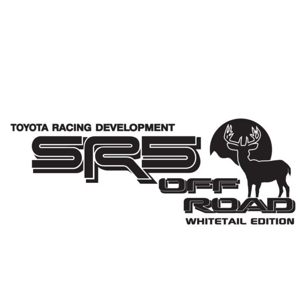 SR5WHITA-01-MBK - SR5 Off Road White Tail Edition