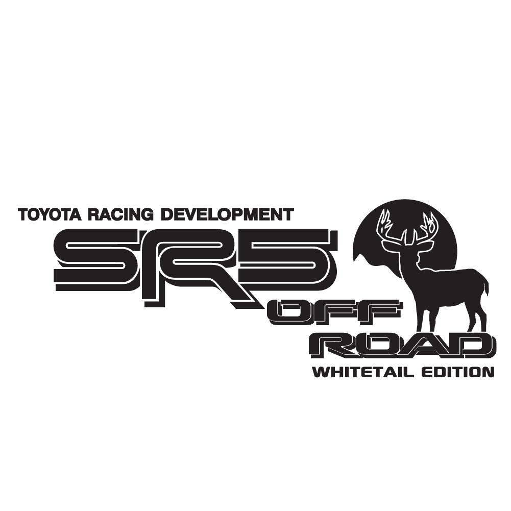 SR5WHITA-01-MBK - SR5 Off Road White Tail Edition