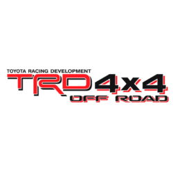 Toyota TRD 4x4 Off Road decal