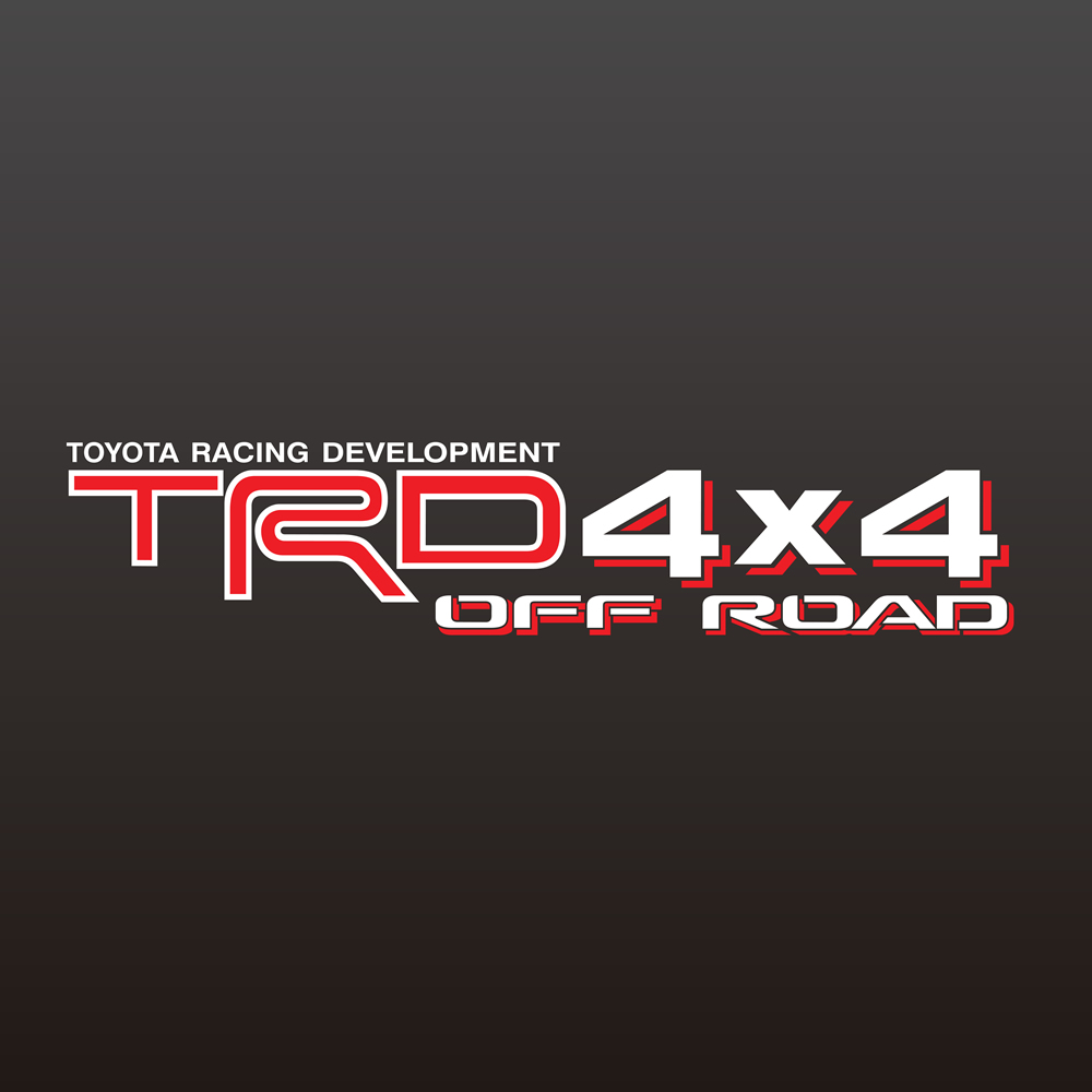 Toyota Racing Development TRD 4x4 Off Road decals