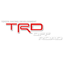 Toyota TRD Off Road decals red/white/gray